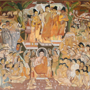 Explore caves for ancient paintings.
