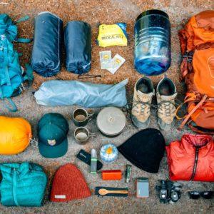 Hiking equipments