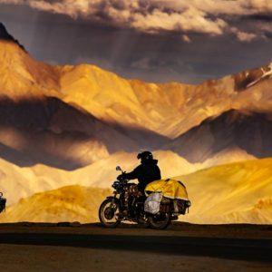 Leh Ladakh bike ride.