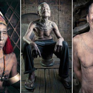 Tribal tattoos of Nagaland