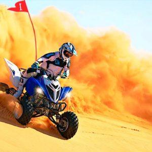 Quad-Biking in Deserts