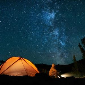 Stargazing.